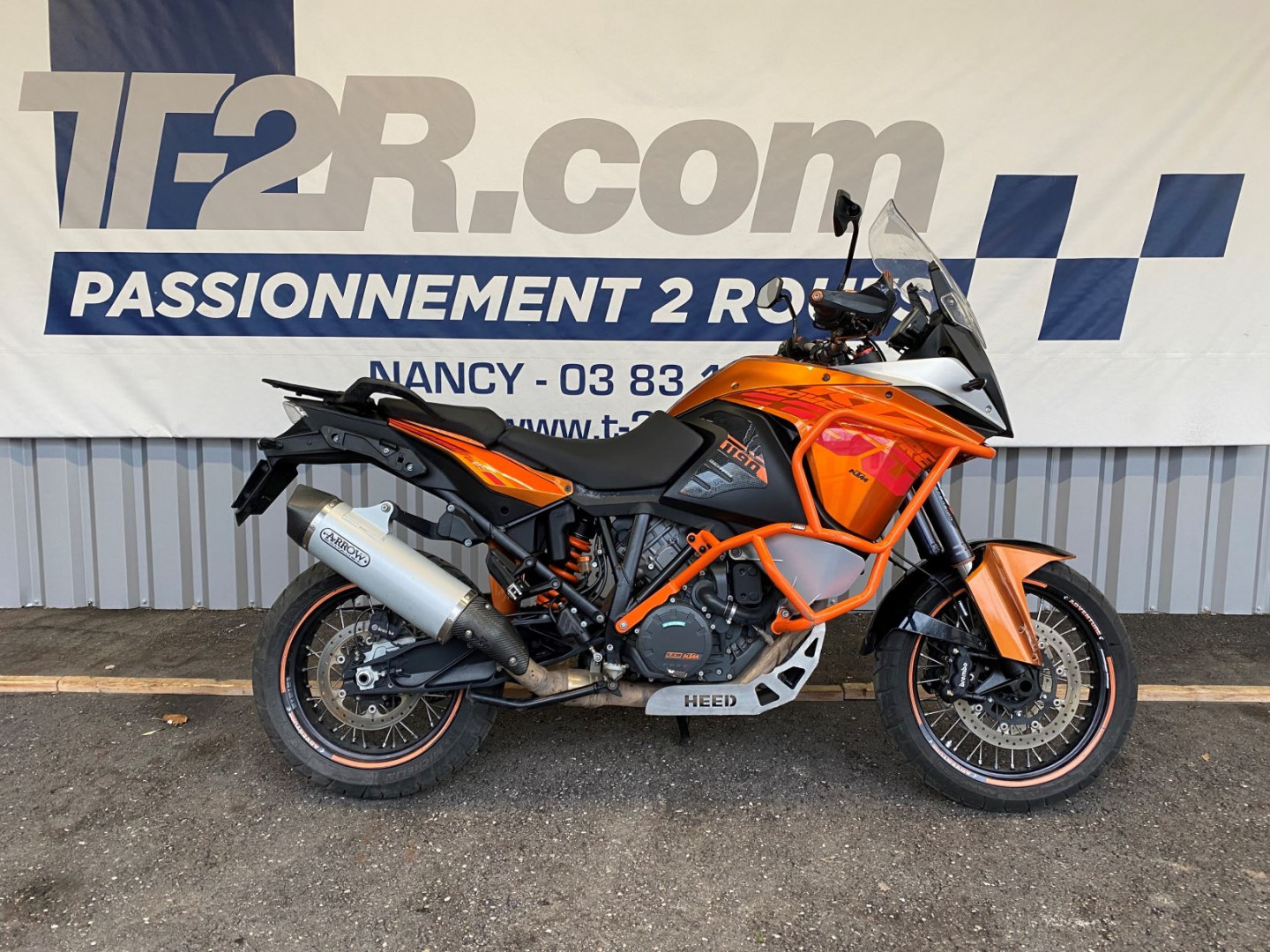 KTM ADVENTURE 1190 - NANCY